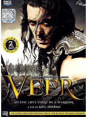 Veer - An Epic Love Story of a Warrior (Hindi Film DVD with English Subtitles)