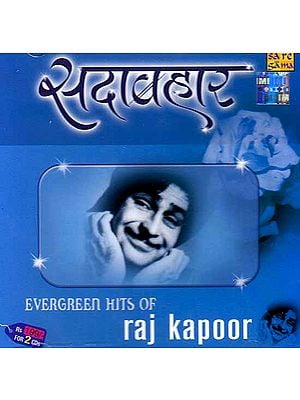 Evergreen Hits of Raj Kapoor (Set of Two Audio CDs)