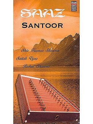 Saaz Santoor (Set of Two Audio CDs)