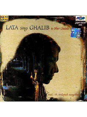 Lata Sings Ghalib & Other Ghazals (Audio CD)