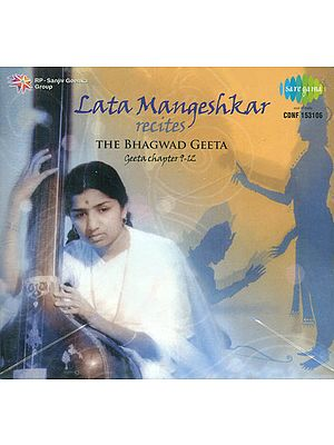 Lata Mangeshkar Recites the Bhagwad Geeta (Audio CD)