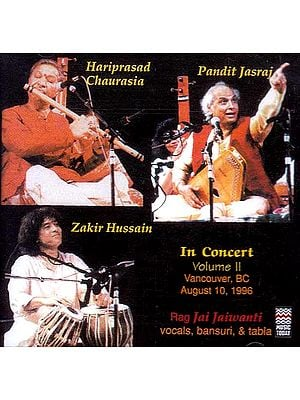 In Concert: Rag Jai Jaiwanti (Audio CD)