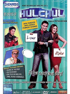 Hulchul (It's One Crazy Love Story) (DVD)