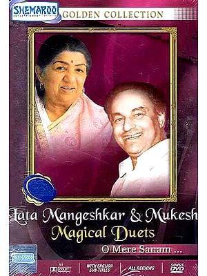 Lata Mangeshkar & Mukesh Magical Duets (O Mere Sanam) (DVD)