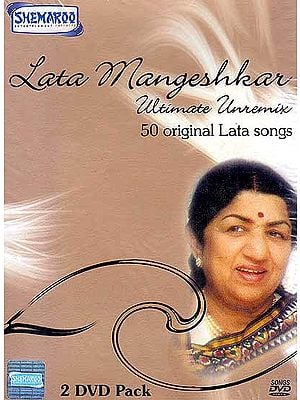 Lata Mangeshkar – Ultimate Unremix (Set of 2 DVDs)