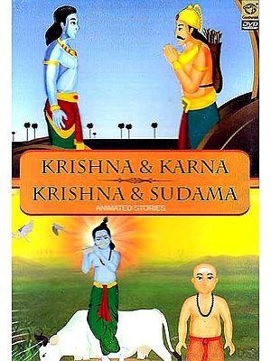 Krishna & Karna, Krishna & Sudama (Animated Stories) (DVD)