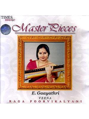 Master Pieces (Veena Raga Poorvikalayani) (Audio CD)
