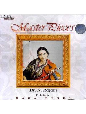 Master Pieces (Violin Raga Deshi) (Audio CD)
