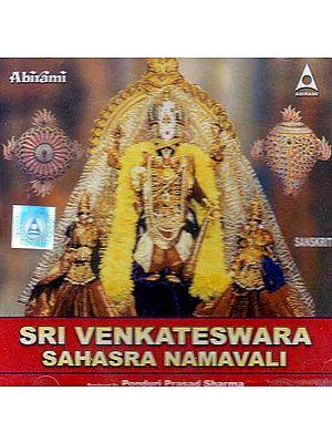 Sri Venkateshwara Sahasra Namavali (Sanskrit) (Audio CD)