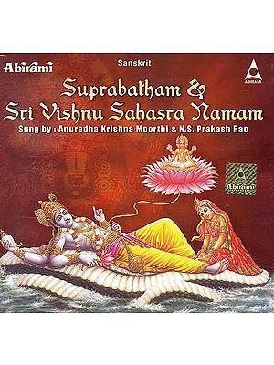Suprabatham & Sri Vishnu Sahasra Namam (Sanskrit)(Audio CD)