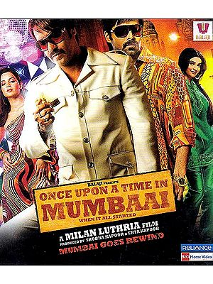 Once Upon A Time in Mumbai (When It All Started) (Blu-Ray Disc)