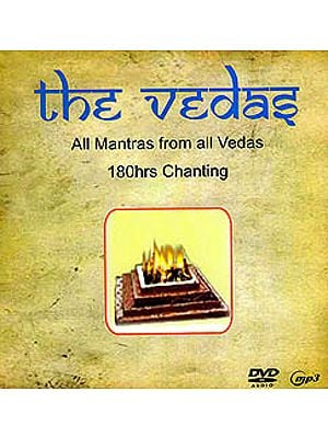 The Vedas All Mantras From All Vedas: 180 Hours of Chanting (Audio DVD)