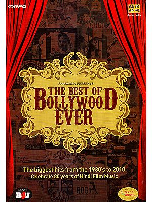 The Best of Bollywood Ever (Set of 10 Audio CDs): The Biggest Hits Ever - Celebrate 80 Years of Hindi Film Music