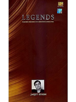 Legends: Maestro Melodies in a Milestone Collection - Jagjit Singh (Set of Five Audio CDs)