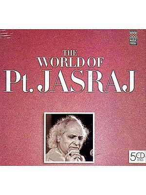 The World of Pt. Jasraj (Set of Five Audio CDs)