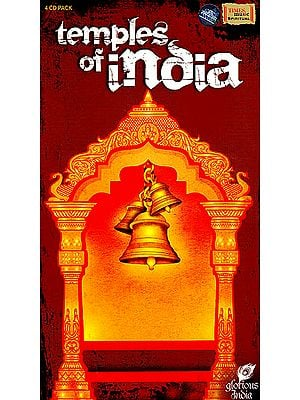 Temples of India (Set of 4 Audio CDs)