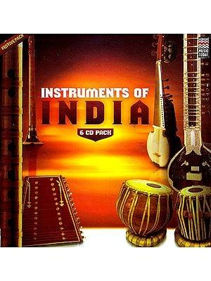 Instrument of India (Set of 6 Audio CDs)