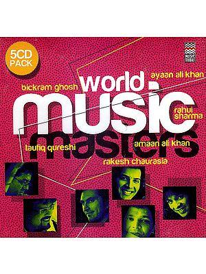 World Music Masters  (Set of 5 Audio CDs)