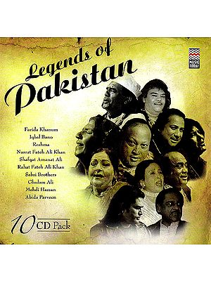 Legends of Pakistan (Set of 10 Audio CDs)
