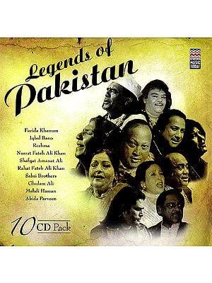 Legends of Pakistan (Set of 10 Audio CDs)