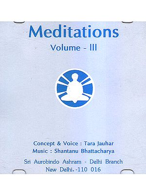 Meditations Vol. III (Audio CD)