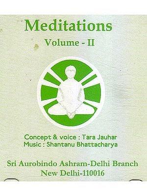 Meditations Vol. II (Audio CD)