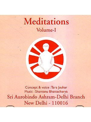 Meditations Vol. 1 (Audio CD)