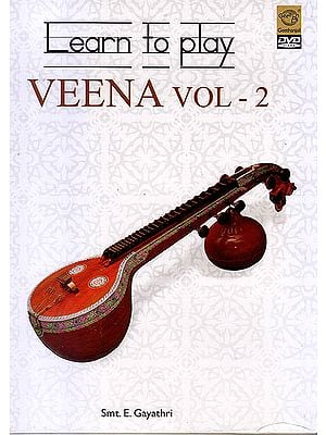 Learn To Play Veena Vol. 2  (DVD)