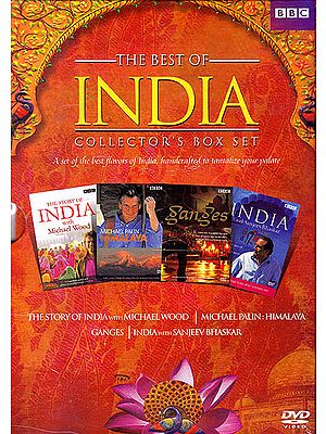 The Best of Collector's Box Set: A Set of The Best Flavors of India, Handcrafted To Tantalize Your Palate  (Set of 8 DVDs)