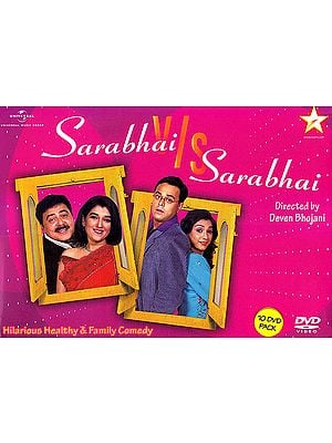 Sarabhai v/s Sarabhai: Hilarious Healthy & Family Comedy (Set of 10 DVDs)