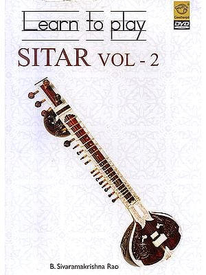 Learn To Play Sitar Vol. 2  (DVD)