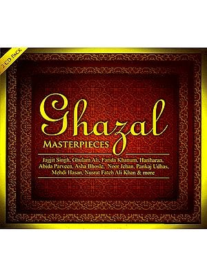 Ghazal Masterpieces (Set of 2 Audio CDs)