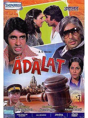 Adalat, The Court: Amitabh Bacchan in a Double Role (DVD)