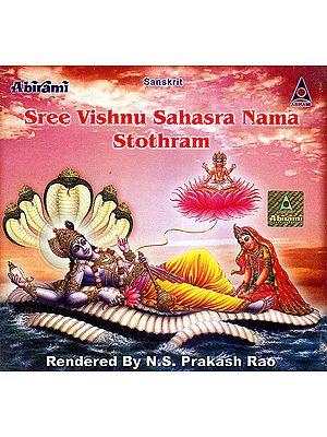 Sree Vishnu Sahasra Nama Stothram: Sanskrit    (Audio CD)