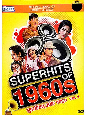 Superhits of 1960s: Original Videos of Hindi Film Songs (DVD)