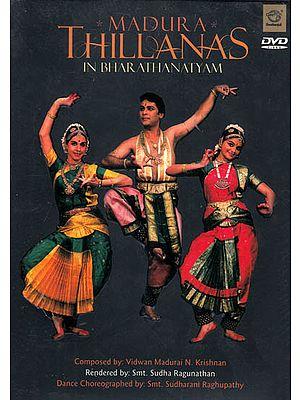 Madura Thillanas in Bharathanatyam (DVD)