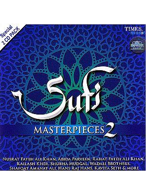 Sufi Masterpieces 2 (Set of 2 Audio CDs)