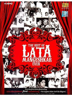 The Best of Lata Mangeshkar Ever (Set of 5 Audio CDs)