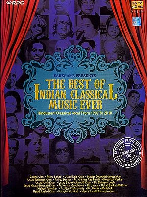 The Best of Indian Classical Music Ever: Hindustani Classical Vocal From 1902 to 2010 (Set of 14 Audio CDs)