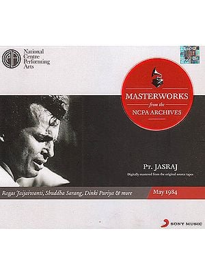 Pt. Jasraj: Masterworks from the NCPA Archives (Set of 2 Audio CDs)