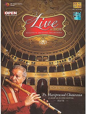 Live In Concert: Pt. Hariprasad Chaurasia (Classical Instrumental): Flute (Set of 2 Audio CDs)