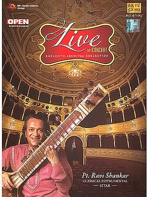 Live In Concert: Pt. Ravi Shankar (Classical Instrumental): Sitar (Set of 2 Audio CDs)