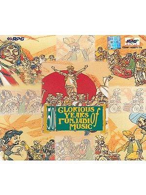 50 Glorious Years of Punjabi Music (Set of 5 Audio CDs)