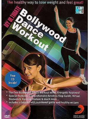 My Ultimate Bollywood Dance Workout: The Healthy Way To Lose Weight and Feel great (With Booklet) (DVD)