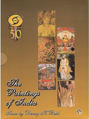 The Paintings of India (With Book) (Set of 6 DVDs)