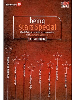 Being Stars Special: Catch Bollywood Stars in Conversation With Anuradha Sengupta (Set of 3 DVDs)