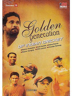 Golden Generation of Indian Cricket (Set of 2 DVDs)