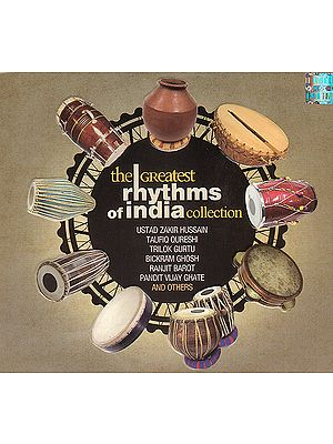 The Greatest Rhythms of India Collection (Audio CD)