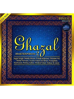 Ghazal Master Pieces (Set of 2 Audio CDs)