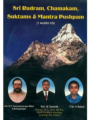 Sri Rudram, Chamakam, Suktams and Mantra Pushpam (Audio CD)